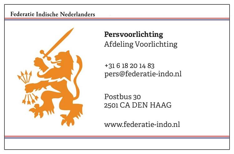 Pers - © Federatie Indische Nederlanders