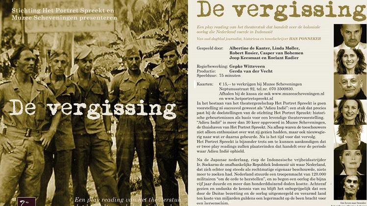 Han Ponneker - 'De Vergissing' - © Den Haag 2019-2020 - Federatie Indische Nederlanders
