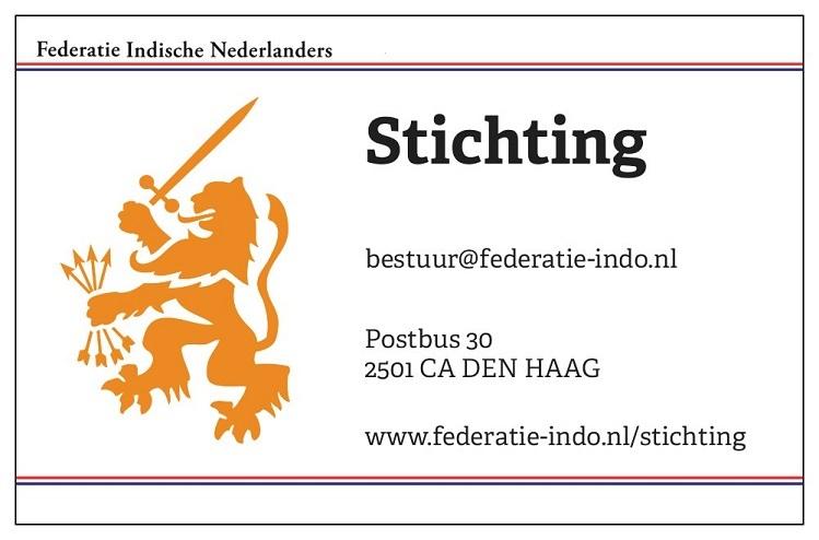 Stichting Federatie Indische Nederlanders - © Federatie Indische Nederlanders